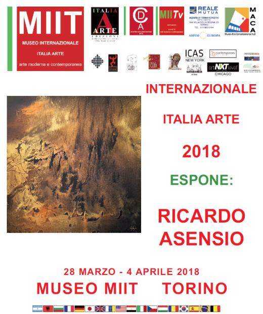 Ricardo Asensio Museo MIIT TURIN Italia