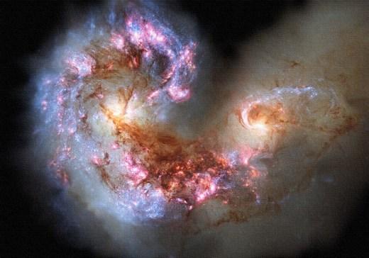 Nebulose interstellari oil,acrilic and pigments on canvas. 162x114 cm.