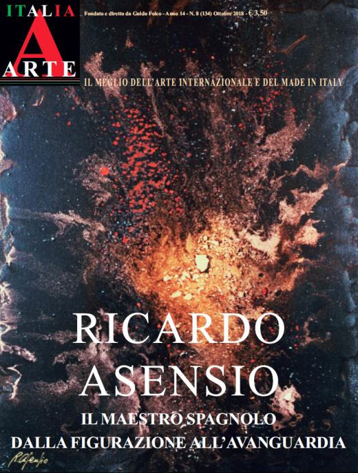 RICARDO ASENSIO Cover ITALIA ARTE
