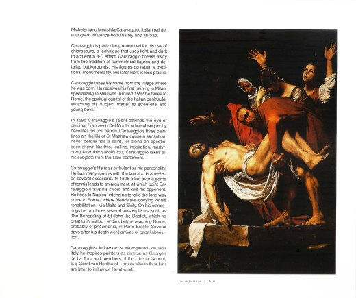 International Prize Caravaggio Ricardo Asensio
