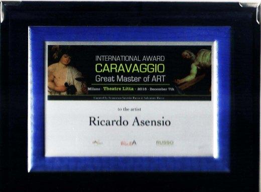 Metopa International Prize Caravaggio 2018 Milan Ricardo Asensio