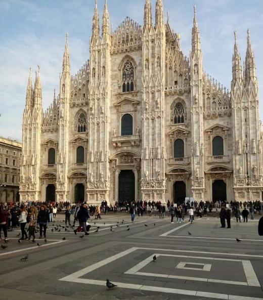Ricardo Asensio Duomo Milano Italia