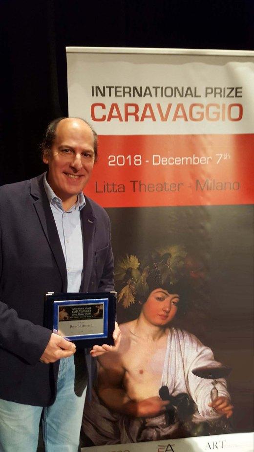 Ricardo Asensio International Prize Caravaggio 2018 Milano