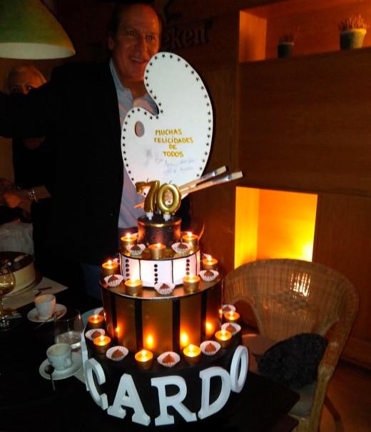 Ricardo Asensio 70 cumpleaños