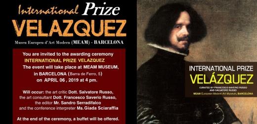 Invitation International Prize Velazquez