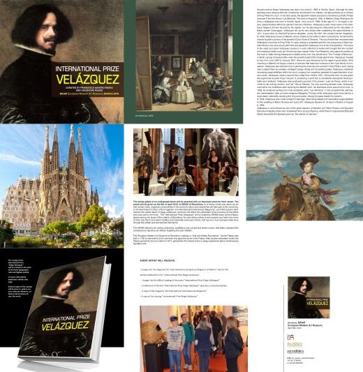 Presentation International Prize Velazquez