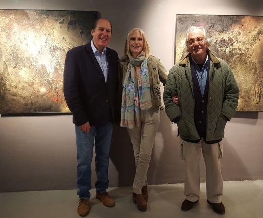 Ricardo Asensio, con Angeles Modolell y Enrique Muda