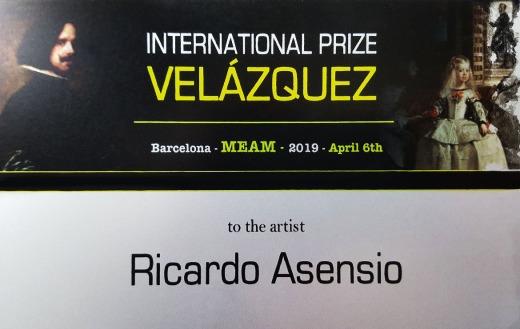 Ricardo Asensio Prize Velázquez